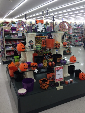halloween decorations in the home wares store like spotlight in australia in niagara us side